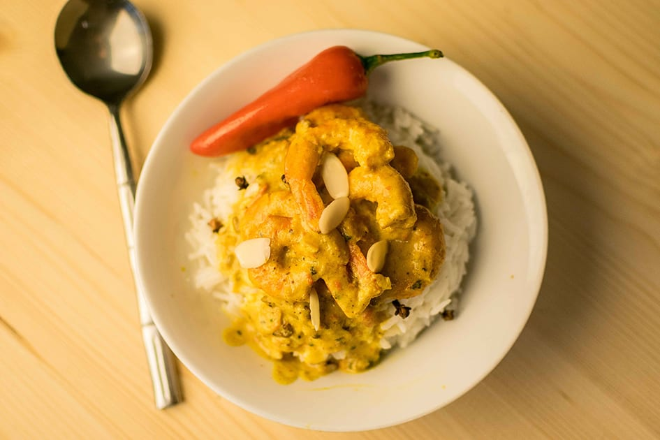 creamy curry wine pairing