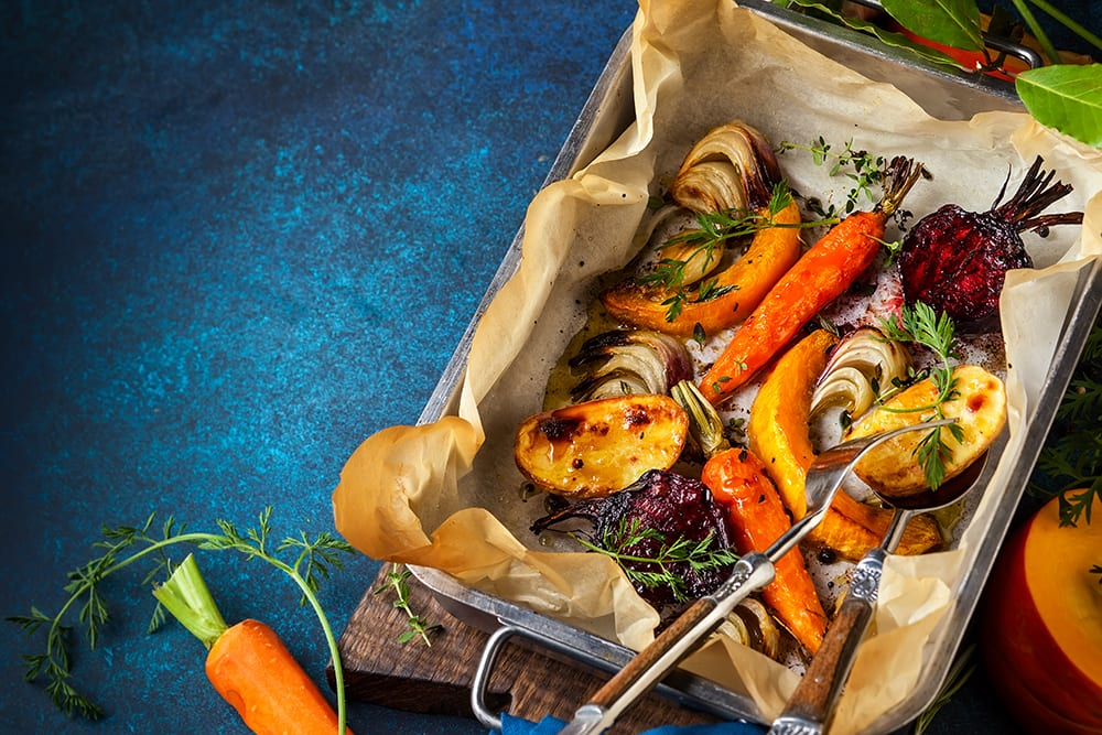 Autumn Vegetables and Wine Pairing